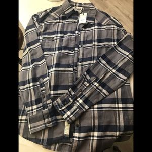LUCKY BRAND FLANNEL NEW